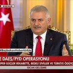 #Başbakan: Cerablus da dahil, bütün alanın YPG ve PYDden temizlenmesi lazım. https://t.co/dPqdoIEBVf