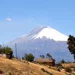 #VolcánCotopaxi visto desde #Pujilí | #Ecuador https://t.co/ZbwPM3TbVd