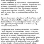 Common Cause MD statement, slamming the newly-revealed Baltimore City Police aerial surveillance program https://t.co/Yjszl4EG4P
