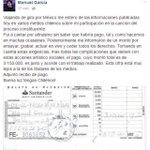 24 MILL. por una Cancíon Fóme. Carlos Cabezas recibió $19.992.000 Manuel García 3.150.000. #Notenemosunputopeso https://t.co/qocqOO8S3N