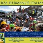 .@35apeloro manifiesta solidaridad y afecto con familiares de víctimas del terremoto en Italia. @dorissoliz @35PAIS https://t.co/RkupaZvpmB