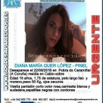 #Colabora ¿Has visto a Diana? Ha #desaparecido en A Pobra do Caramiñal #ACoruña  Si la ves 📞062 📞112 Tu RT ayudará https://t.co/uFi4zCz6h7