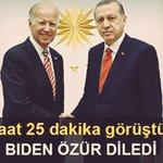 Özür Dilesenizde #biden Samimi Değilsiniz... @RT_Erdogan https://t.co/DJj4ml4Yuu