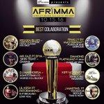 Nomminés aux @afrimma dans la catégorie #MeilleurCollaborationDelAnnée avec @yorobo86 . #ApprochezRegardez https://t.co/Of74cvsSpp