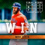 Evan Gattis homers as the #Astros win to wrap up a 5-2 road trip! https://t.co/2HE2FM4i1J https://t.co/aHoKOMI9yr
