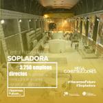 Más de 3.258 empleos directos ha generado la construcción de #Sopladora. https://t.co/KxnLpPHuB9