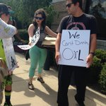 Protest begins outside Norman City Hall over Plains Pipeline @OKCFOX https://t.co/pw5FuPjfOu
