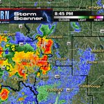 Live Radar 850P HVY Storms SW OK. Small Hail, 55 MPH Winds, Fequent Lightning. NE at 30MPH https://t.co/Rmg6S88hSa