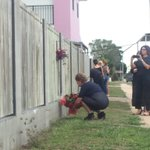 The British Consulate just paid her respects at the scene #HomeHill https://t.co/JmbM5wpDiB