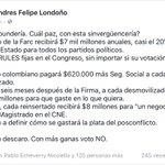 Esto es lo q aprobaría ud votando SI al plebiscito, no votaría por la paz, votaría por las FARC. Por @AndresFLondono https://t.co/b2XP86fMuI