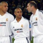 Roberto Carlos trabaja con la cantera. Zidane es el DT, y Ronaldo ahora será asesor de Florentino. Reunión galáctica https://t.co/fRV1uq27px