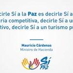 La #PazEnColombia nos llevará hacia un país con crecimiento, un país equitativo, con menos pobreza. #SiALaPaz https://t.co/1RdGRJAbYz