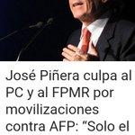 #EnTwitterMeHanDicho que José Piñera está tan rayado como la sra Evelyn Matthei. @CNNChile @24HorasTVN @biobio @T13 https://t.co/TwtbPUvPVC