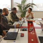 Min. @LidiceLarrea reunida con el Viceministerio de Inclusión Económica para revisión de avances de gestión #Quito https://t.co/ItpFpJK4QJ