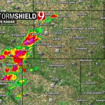 5:11pm RADAR- Storms N of Watonga up to Lahoma moving NE. Lots of lightning. Some small hail. #okwx @NEWS9 https://t.co/nDbpJeeicT