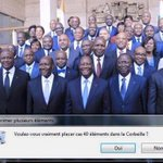 Mais les Ivoiriens aiment le jeu! Haaan 😂😂😂😂😂😂😂😂😂 https://t.co/Z7kOFxzUp2