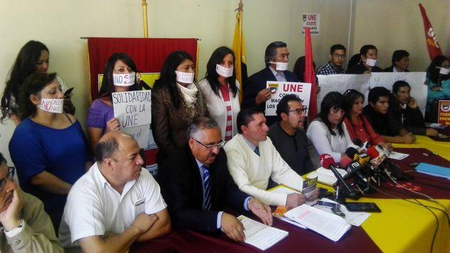 Resultado de imagen para sindicato maestros ecuador