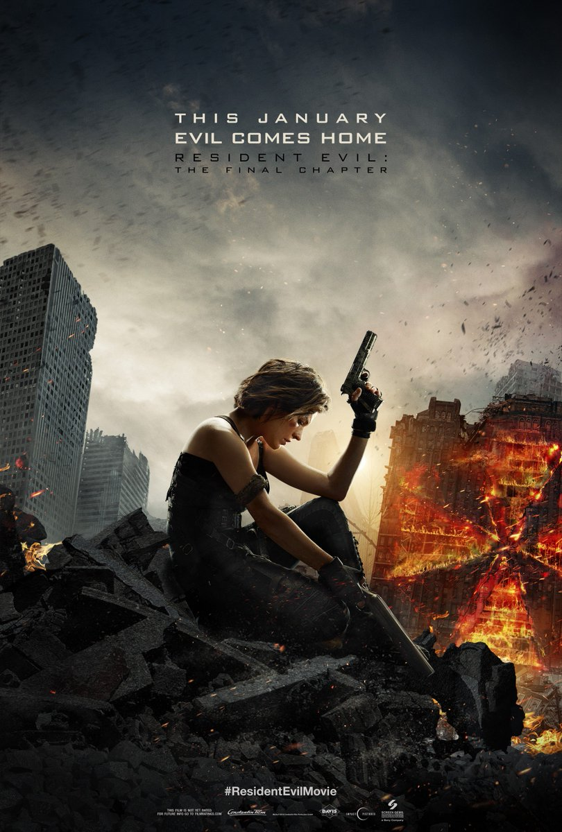 This January, Evil Comes Home. See how it ends 1/27/17. #ResidentEvilMovie https://t.co/Y2GUvgnuTT
