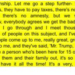 Trump, in excerpt of townhall with Hannity, on what to do with undocumented immigrants. Whooo boy: https://t.co/VT5mE1EXpZ