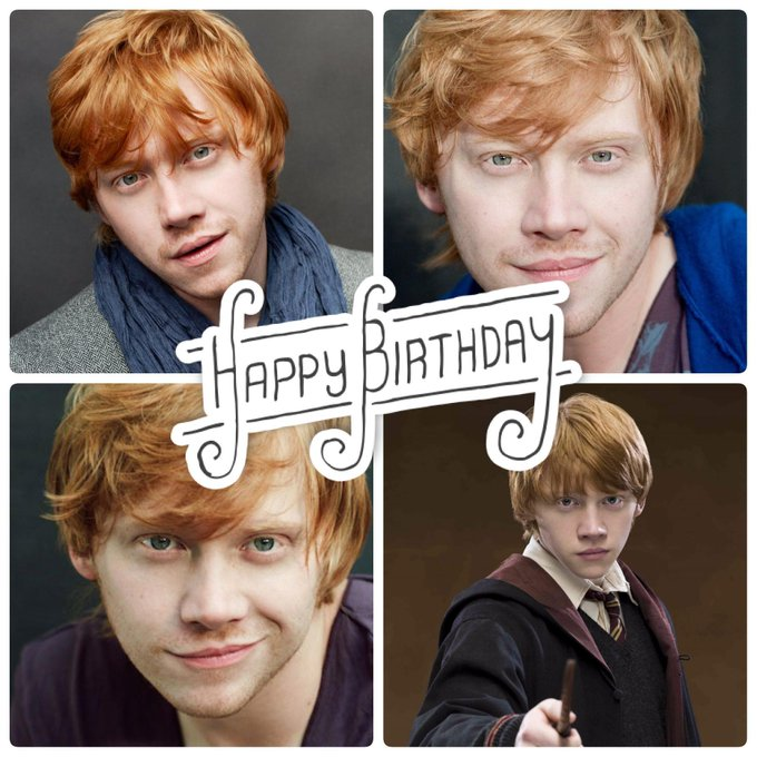 Today is Rupert Grint\s Birthday. Help us wish this Harry Potter star a very Happy Birthday :)