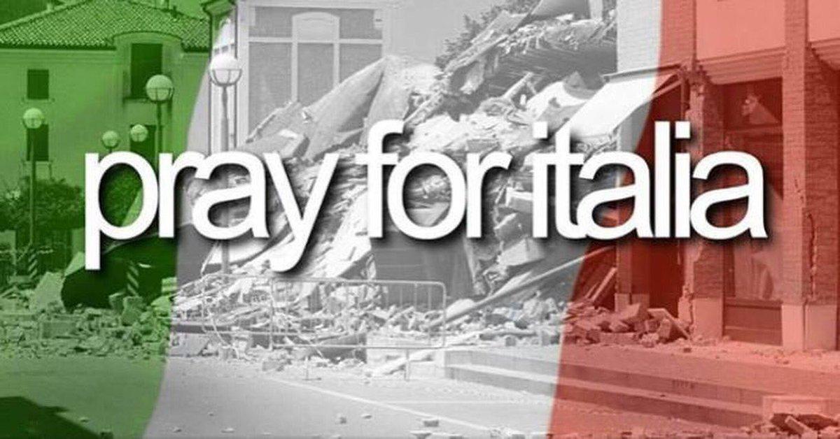 Italy in my mind #PrayingForItaly https://t.co/wWvEMAMMXa