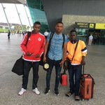 Wasiu aka Messi (far right) arrived Europe Rcd by d footie club.Thx Cornerstone Magodo Lagos 4 his dream come true. https://t.co/qSf3rOPb52