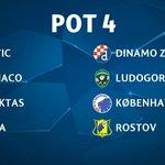 Así quedan los bombos para el sorteo de la #ChampionsLeague https://t.co/YyHq62zinv