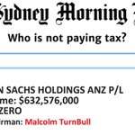 Detailed list of Taxed-Nots (who paid NO TAX on $406,000,000,000 in one year alone): https://t.co/cpL3paNBFO #auspol https://t.co/4seEXkVOML