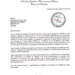 Senador Ortiz pide a #BoliviaTv el mismo espacio y tiempo que le dio a Quintana para realizar sus acusaciones #ANF https://t.co/R5CoWcElql