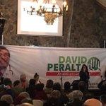 La diputada @camila_vallejo entregando su apoyo a @David_Peralta_C candidato a Alcalde por #LaFlorida #ManosLimpias https://t.co/931S99KfO0