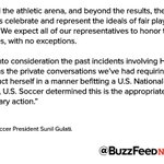 "US Soccer suspends Hope Solo for six months after calling Swedens team ""cowards"" during the Olympics https://t.co/0KmOyh2RKo"