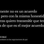 """""""La firma de un acuerdo de paz no es un salto al vacío"""", afirma Humberto de la Calle. https://t.co/AH8tUs5oMO"""