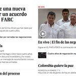Así registraron el acuerdo de paz en Colombia los medios del mundo https://t.co/tYqlei7y6F #PazenColombia https://t.co/PpJSK5vZ2b