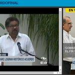 #AlAire Alias Iván Márquez. hablando del histórico acuerdo entre el Gobierno y las Farc https://t.co/WGzjCQI0cg https://t.co/34Nu8xmjJB