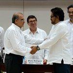 "#PazenColombia | ""Hemos cumplido la tarea"", dice Iván Márquez https://t.co/0LSR7YIh8h https://t.co/KBynuxwhMM"