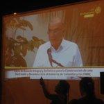 Emoción durante la intervención de Humberto de la Calle, delegado del gobierno nacional en La Habana. #SíALaPaz https://t.co/ZAxeIVIdUF