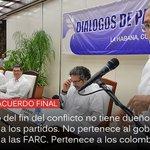 """""""El Acuerdo no tiene dueño... pertenece a todos los colombianos"""": Humberto de la Calle → https://t.co/2QXuZXHa11 https://t.co/4VFrdIsC7T"""
