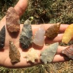 People chose toolstone that flaked well & was durable, but beauty surely counted too. #Secwepemc #archaeology https://t.co/KhqLcgpP19