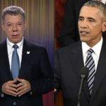 Obama felicita a @JuanManSantos por #AcuerdoFinal de paz con las Farc https://t.co/3CBxnIouLq https://t.co/zGsao9I0qp
