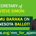 Sign on to demand Steve Simon add our Green VP candidate @ajamubaraka to the MN ballot: https://t.co/H0Fw7ZaJfo https://t.co/PMqVOmVeu0