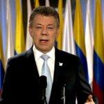 """.@JuanManSantos: """"El plebiscito por la paz será el domingo 2 de octubre"""" https://t.co/tYqlei7y6F #PazenColombia https://t.co/BlAuXvNbFh"""