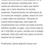 Podrá no gustarte Manuel García @manugarpez y no conocer la famosa canción, pero no cuestiones sin saber. #Cultura https://t.co/YHrAbItqgC