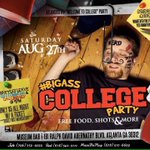 #BigAxxCollegeParty Saturday! (18+) Welcoming All Colleges Back In GA. Guaranteed To Be Lit 🔥  https://t.co/DRBrUNQK9x RT x2