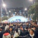 Los jóvenes colombianos, llenos de esperanza con la firma del acuerdo del fin de la guerra.#GanandoLaPaz https://t.co/IuIpSRh1FA