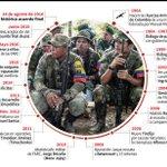 Las FARC, 52 años de conflicto que marcaron a sangre y fuego a #Colombia #AFP https://t.co/wF6vBOU5yL https://t.co/h5cuszI1lh