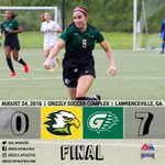 FINAL: @GGC_WSoccer picks up its 2nd win in-a-row with a 7-0 victory over @RunningEagles. Next up @GoBaronsGo 8/31. https://t.co/c3tgVTBF3z