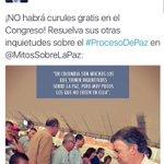 Lo negó y lo negó.... Hoy no son capaces de reconocer que @AlvaroUribeVel siempre tuvo razón, Sí regaló curules !10! https://t.co/o7zIiAb8wn