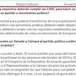 5 curules aseguradas en el Congreso. Uno de los puntos que más incomodan para el #2DeOctubre #PazenColombia https://t.co/fKSI45Rjm2