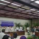 Lo Logramos!. Se incorporo capitulo etnico al acuerdo final de la Habana!. @ONIC_Colombia @FARC_EPaz @EquipoPazGob https://t.co/lPkmt4oLQV