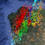 Menudo día o de onte en #Galicia! Rexistráronse 6359 RAIOS! Hoxe volverá a haber TREBOADAS 🌩⛈ https://t.co/IR7Io4tfeH
